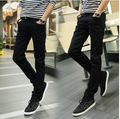 2016 Special Summer Slim thin section jeans boys pants feet long pants tide male Korean