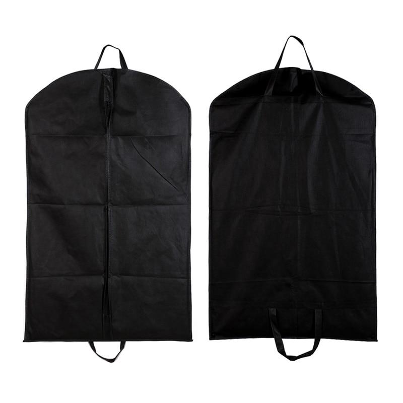 LKQBBSZ Suit Cover Storage Bags,clothes Storage,almacenamiento,Case For Clothes Black Dustproof Hanger Coat Clothes Garment