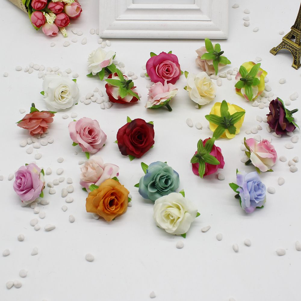 5pcslot Fresh And Artificial Flowers Small Tea Bud Simulation Small