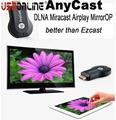 50pcs Anycast TV Stick Miracast Wireless Wifi Smart Dongle DLNA  Airplay Mirror for ios Andriod