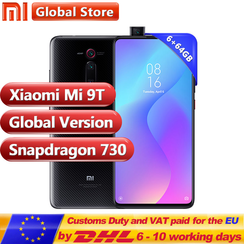 Global Version Xiaomi Mi 9T (Redmi K20) 6GB 64GB Smartphone Snapdragon 730 48MP Rear Camera Pop up Front NFC-in Cellphones from Cellphones & Telecommunications on Aliexpress.com | Alibaba Group