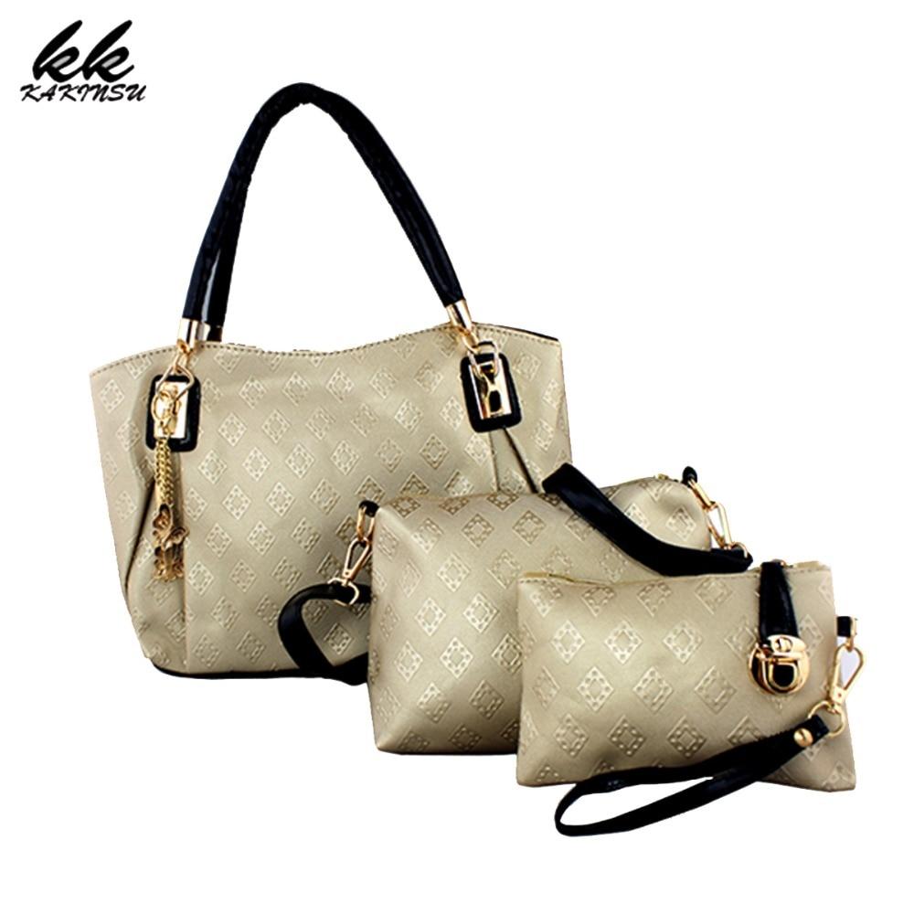 Famoso diseñador de marcas de lujo las mujeres bolsa conjunto medio de buena cal