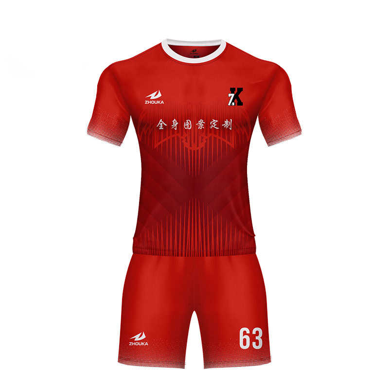 ef30921ea ... Personalized football shirt maker boys  women sports uniform soccer  jersey custom any logo ...
