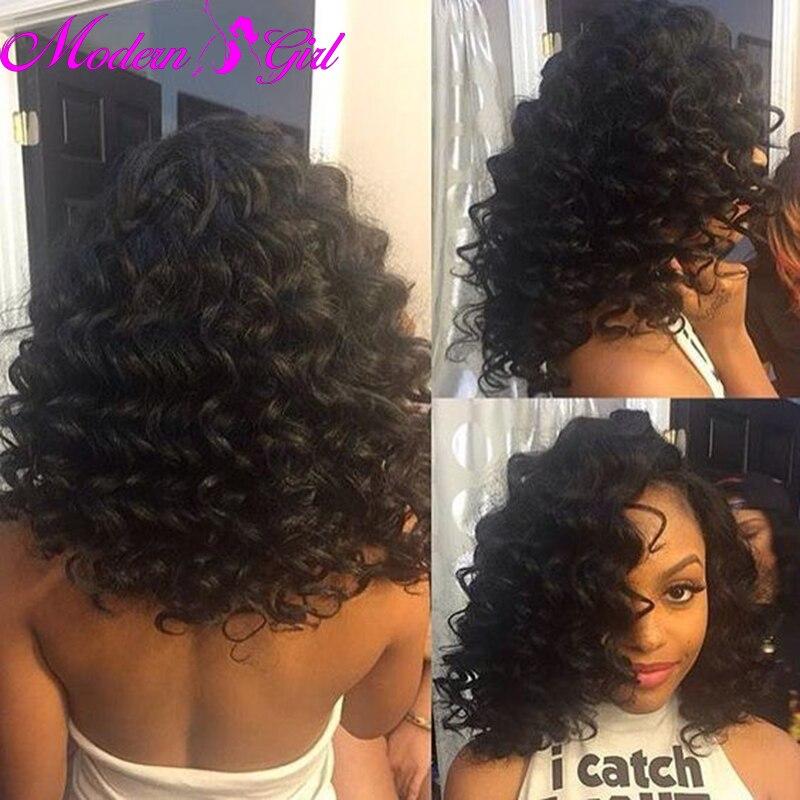 Brazillian Deep Wave Virgin Hair Wet And Wavy Weave 7a