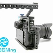 Клетка для камеры защитный чехол крепление с верхней ручкой Ручка для Panasonic Lumix GH5/GH5s камера фото студия комплект