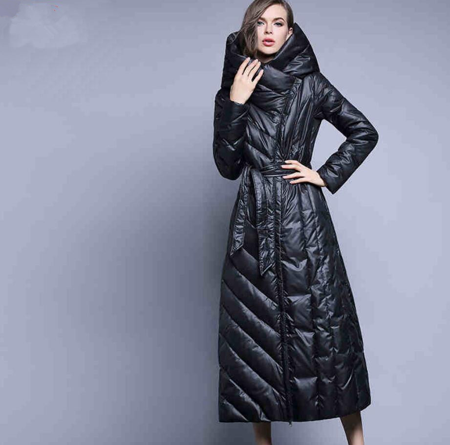 New brand design winter women   down     coat   fashion slim style 90% white duck   down   jacket parkas with hooded special placket r432