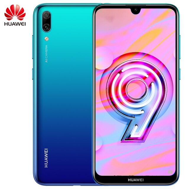 הגלובלי הקושחה Huawei ליהנות 9 Huawei Y7 פרו 2019 MobilePhone 6.26 אינץ Snapdragon 450 אוקטה Core אנדרואיד 8.1 פנים נעילה 4000mAh
