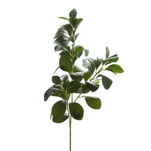 Artificial Plant Fake Leaves Foliage Grass Bush Wedding Party Home Garden Decor potted flowers Leaves coffee house