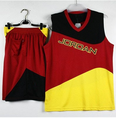 finest selection e0e4c af9ca US $21.0 |P0585 Michael Jordan Men Basketball Kit Set of Jersey Shorts With  Logo Customize jersey Training Outfit Basketball Pants Uniform-in ...