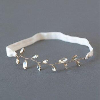 Crystal Wedding Garter Gold Leaf Bridal Garter Gold Garter Rhinestone Garter Wedding Accessories фото