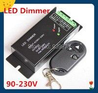 110V 120V 220V 230V 400W 2A IR Knob PWM Triac LED Dimmer Switch For E14E27 GU10