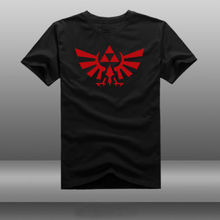 The Legend of Zelda tee Hyrule Royal Family Kingdom Seal t shirt Famous Video Game Triforce2 Sign t-shirt euro sizeS-XXXL
