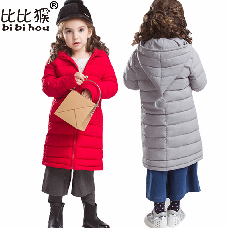 Bibihou Baby Girls Winter Jacket&Coat Baby Girls Down Cotton Winter Outwear Warm Cotton Hooded Padded Coat Girl Coat Christmas coat