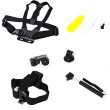 For Gopro Equipment Monopod For Gopro Float Bobber Chest Belt Set For Gopro Monopod Selfie Monopod For Xiao yi Equipment