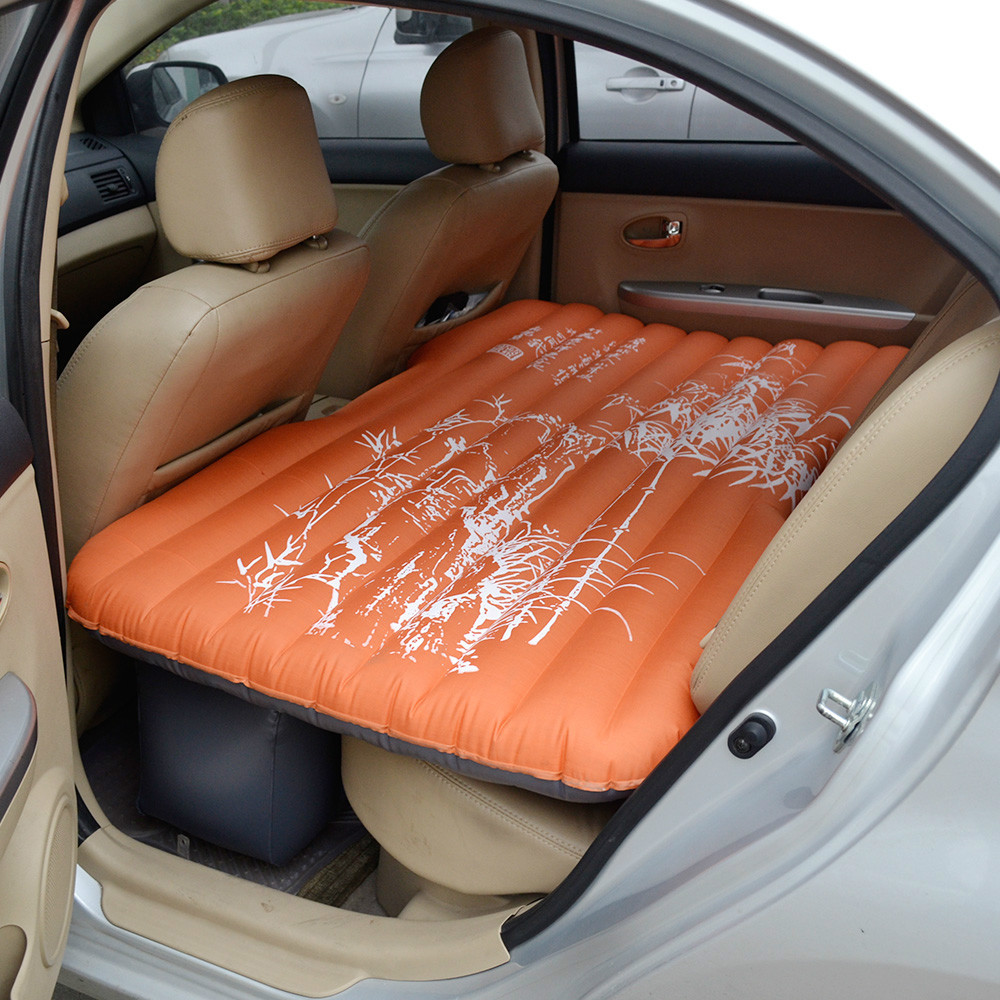 2015 HottingFree Shipping Latest Inflatable Car Bed Cushion Back Seat Cover Air Mattress In Automobiles Covers From