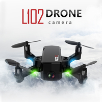 L102 480P 720P Wifi FPV Cute Selfie Mini Drone with Camera Helicopter Altitude Hold RC Drone Quadcopter Foldable Dron VS in1601