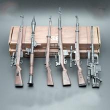6PCS WW2 Military 1/6 Soldaten Action-figuren Skala Waffen Modelle Deutschland KAR 98K Mauser Gewehr Guns Zubehör 4D block Spielzeug