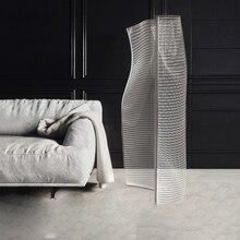 Modern Acrylic Ins Floor Lamp Torscher Standing Home Decor Lamps For Living Room Bedroom Loft Light Fixtures