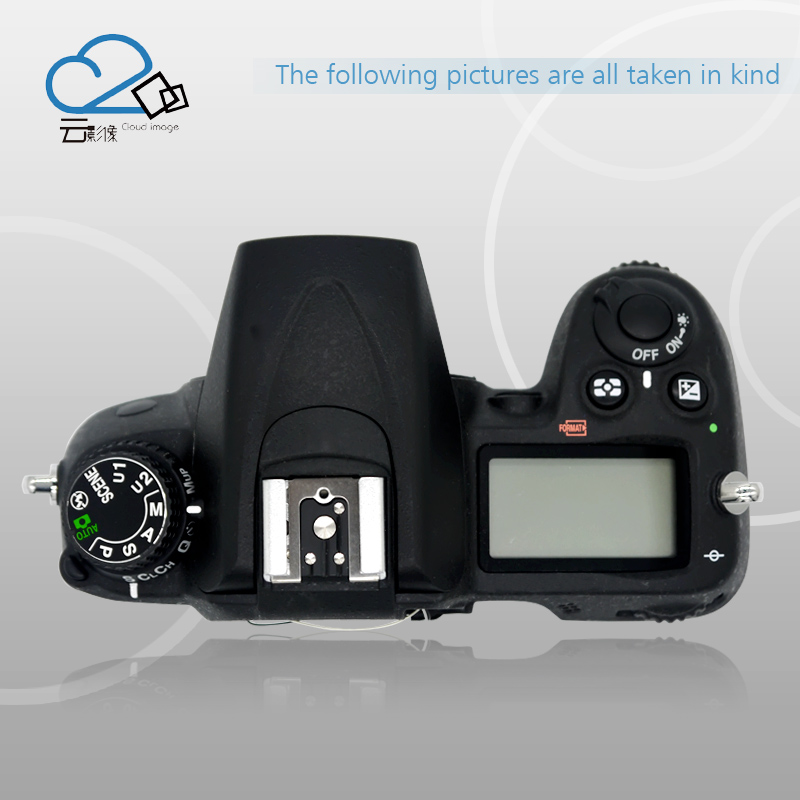 Test OK!D7000 top cover for Nikon D7000 top shell with flash board top LCD Replacement D7000 Camera Repair Parts d7000 rear back cover shell with lcd button fpc for nikon d7000 for nikon
