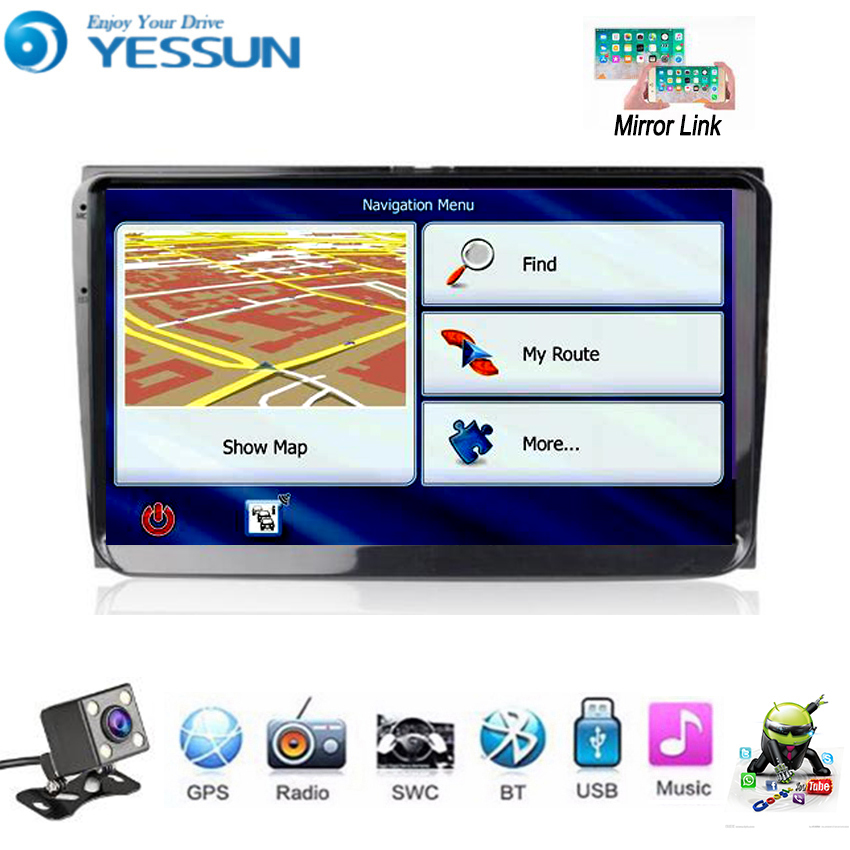 YESSUN For Volkswagen <font><b>Golf</b></font> <font><b>6</b></font> MK6 2008~2012 <font><b>Car</b></font> <font><b>Android</b></font> Multimedia Player <font><b>Car</b></font> <font><b>Radio</b></font> GPS Navigation Big Screen Mirror Link image
