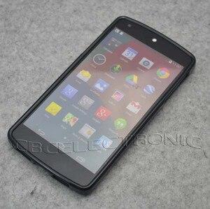 Image 2 - החדש TPU מט עור ג ל Case כיסוי רך עבור LG Google Nexus 5 E980 בחזרה טלפון סיליקון תיק מקרי