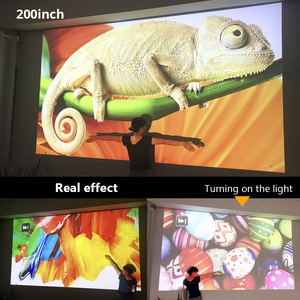 Image 5 - BYINTEKK11 Smart Android projector, 1920x1080 resolution, FULL HD 1080P support 4K,LED long life beamer,for Home Theater Cinema