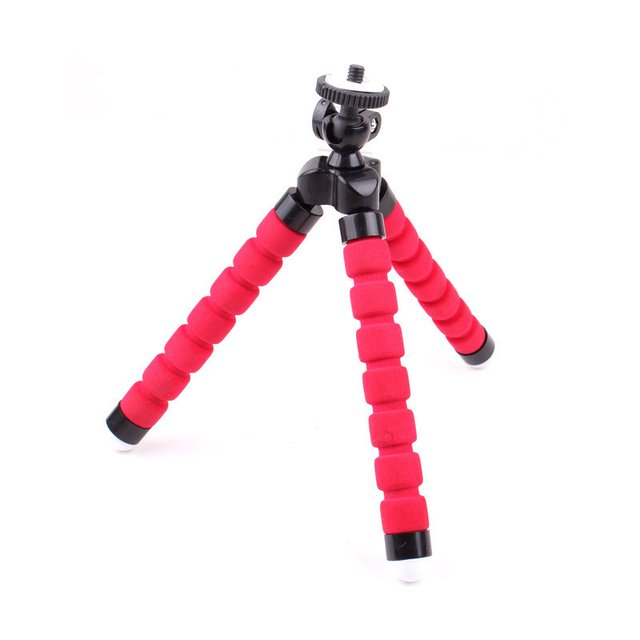 Mini Sponge Tripod For phone 360 Degree Lazy Octopus Holder Clip Action Camera Tripod For Gopro huawei xiaomi Smartphone Stand