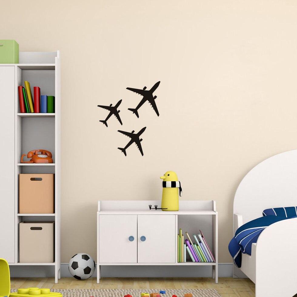 C020 Три самолета самолет самолетни - Декор за дома - Снимка 2