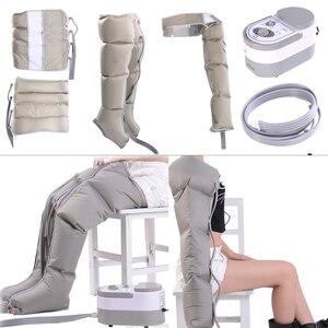 Image 1 - אינפרא אדום טיפול אוויר דחיסת גוף לעיסוי מותן רגל זרוע להירגע מכשיר לקדם זרימת דם כאב הקלה הרזיה דה