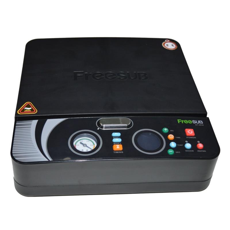 4 шт. ST 2030 3d вакуумная Сублимация/мини цифровая теплопередача/термопресс машина для телефона чехол печать обложек