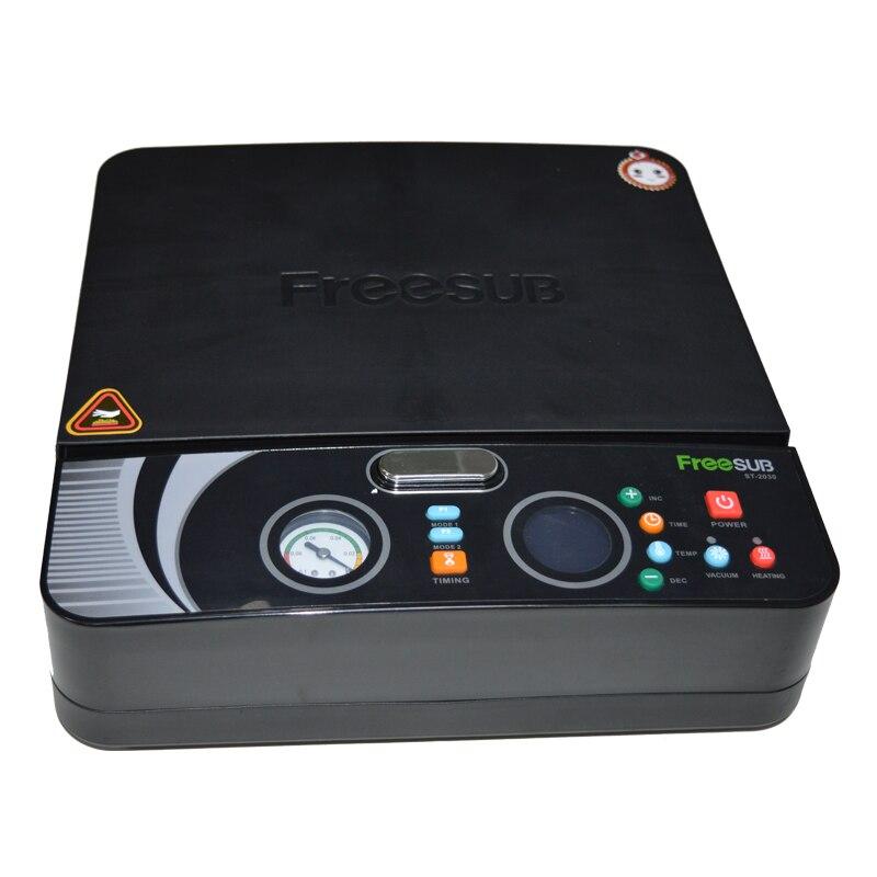 4 pz ST 2030 3d di Vuoto di Sublimazione/Mini Digitale di Scambio di Calore/Calore Presse Macchina Per La Copertura Della Cassa Del Telefono di Stampa