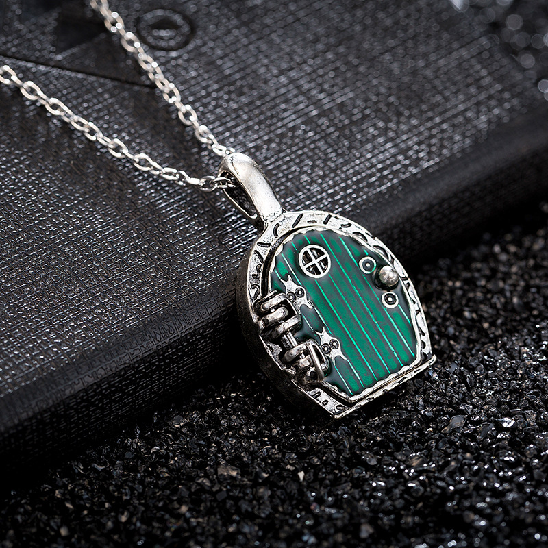 European and american movies the hobbit lord of the green door european and american movies the hobbit lord of the green door pendant necklace wholesale necklace fantasy necklace in pendant necklaces from jewelry aloadofball Images