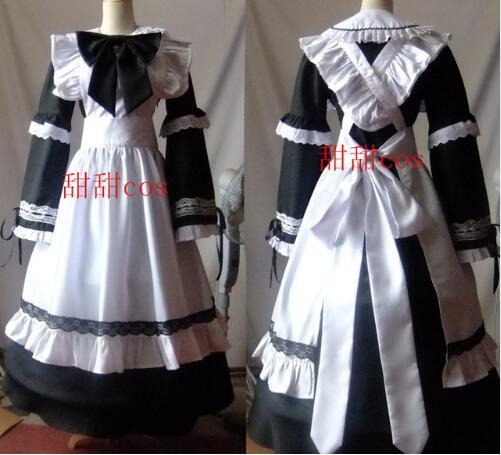 Nueva manera caliente de las mujeres Halloween Cosplay Gothic Lolita  vestido largo princesa trajes cdde5ece9888