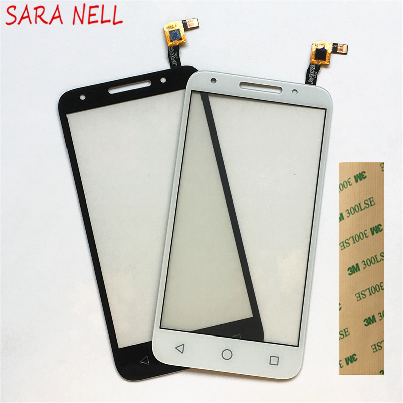 SARA NELL Moible Phone Panel For Alcatel One Touch U5 5044D 5044I 5044T 5044Y OT5044 Touch Screen Sensor Digitizer Glass+TapeSARA NELL Moible Phone Panel For Alcatel One Touch U5 5044D 5044I 5044T 5044Y OT5044 Touch Screen Sensor Digitizer Glass+Tape