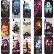 Game Thrones Case For Huawei P30 P20 Mate 20 Pro 9 P10 Lite Coque Daenerys Dragon Jon Snow Tyrion Lannister Silicone TPU Cover