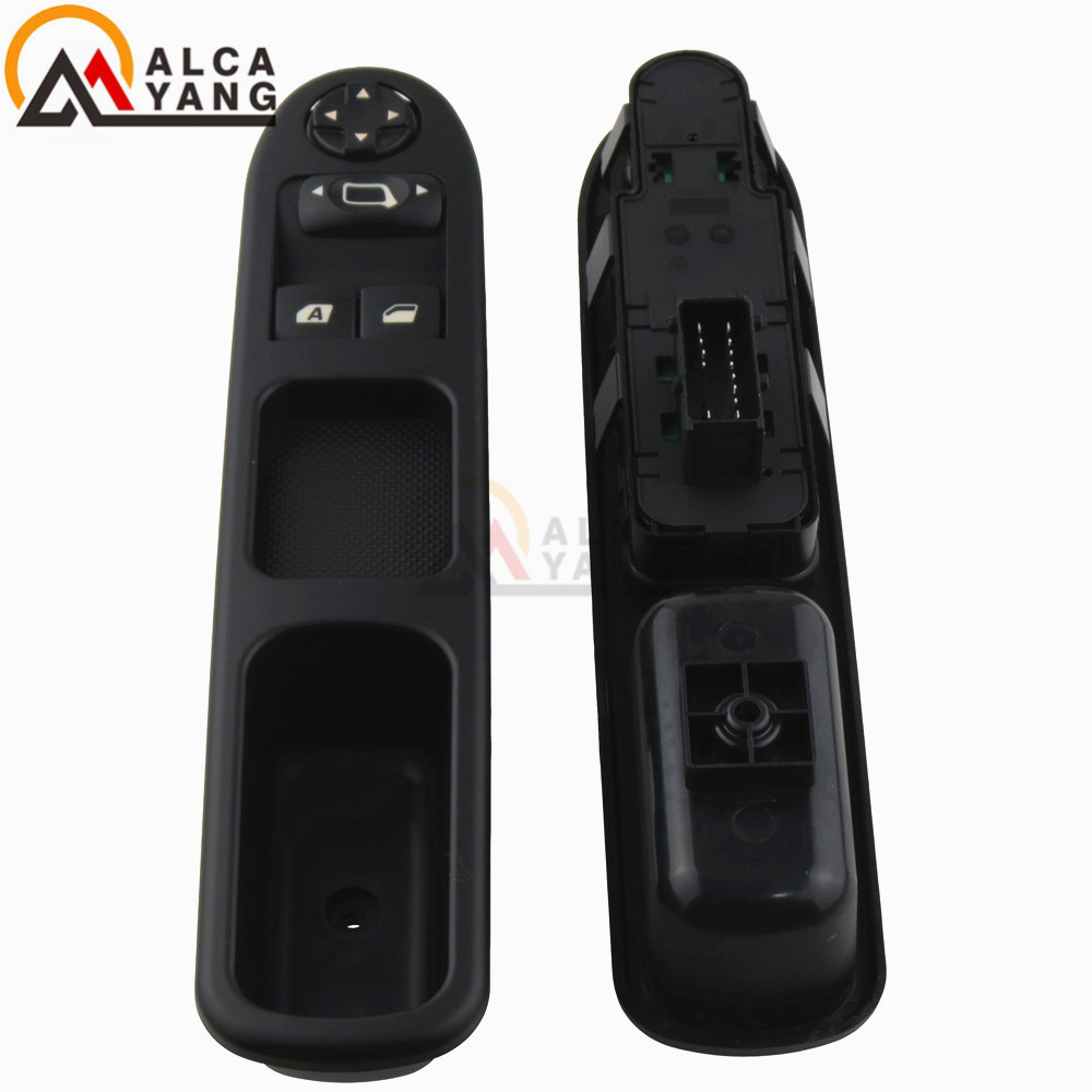 Electric Master Control Power lifter Window Switch 6554.QC For Peugeot 207 Citroen C3 Picasso 2007-2014(China)