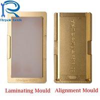 1 Unidades Molde De Aluminio Holder Para Samsung Galaxy S6 S8 plus S7 Nota 4 LCD Lente de Cristal de Borde de Laminación Posicionamiento Alineación Del Molde