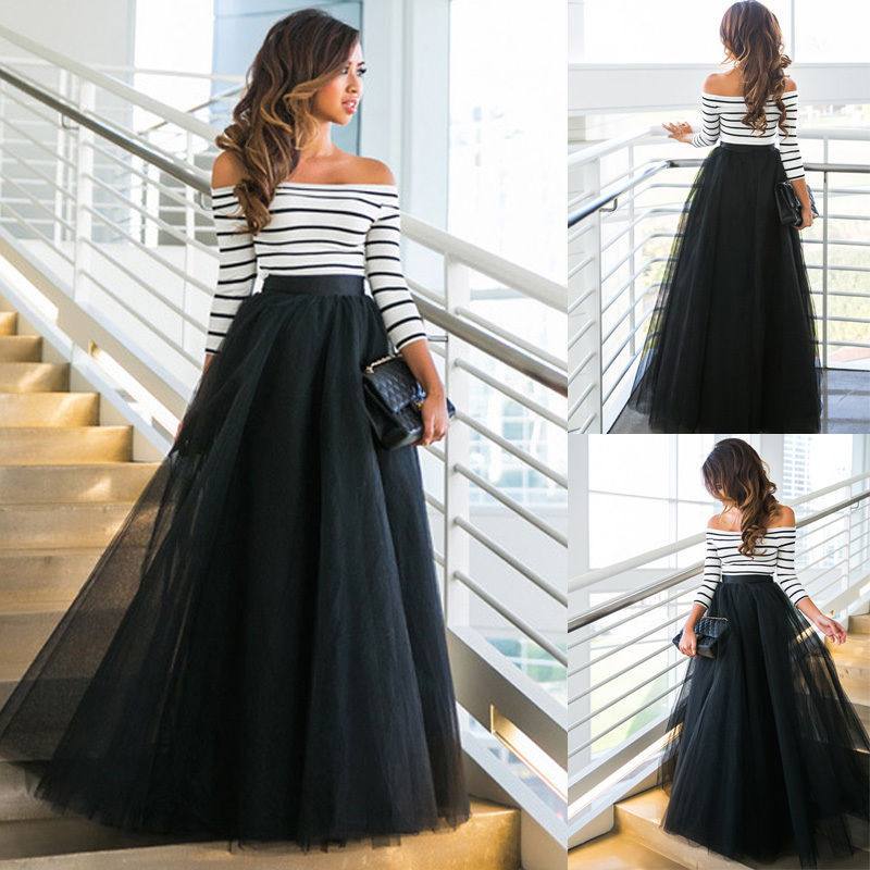 Black Long Bridal Petticoat Wedding Ball Gown Underskirt Rockabilly Dress Crinoline Tulle Skirt Jupon Femme Wedding Accessories