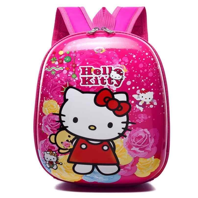 Новый эва Пингвин Эльза школьный рюкзак Детский рюкзак жесткий в виде ракушки рюкзак мультфильм прекрасный София сумка дети милые сумки