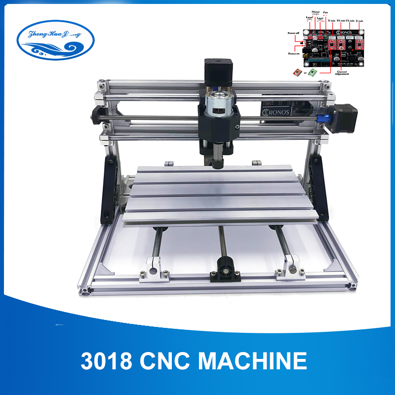 CNC 3018 ER11 Laser Cutter Engraver Laser Engraving Machine Mini Milling Machine Wood Router GRBL Control Woodworking ToolsCNC 3018 ER11 Laser Cutter Engraver Laser Engraving Machine Mini Milling Machine Wood Router GRBL Control Woodworking Tools