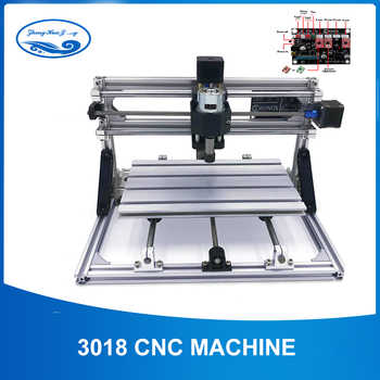 CNC 3018 ER11 Laser Cutter Engraver Laser Engraving Machine Mini Milling Machine Wood Router GRBL Control Woodworking Tools - DISCOUNT ITEM  32% OFF Tools