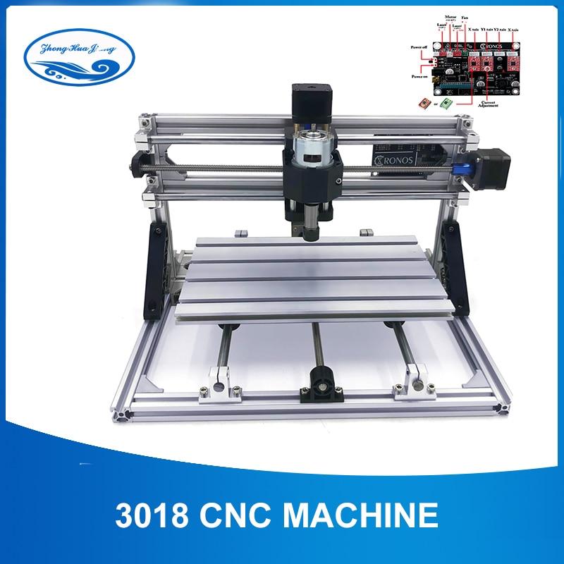 CNC 3018 Macchina Per Incidere di Taglio Laser Incisore Laser ER11 Mini Fresatura Router Legno Macchina GRBL di Controllo Strumenti di Lavorazione Del Legno