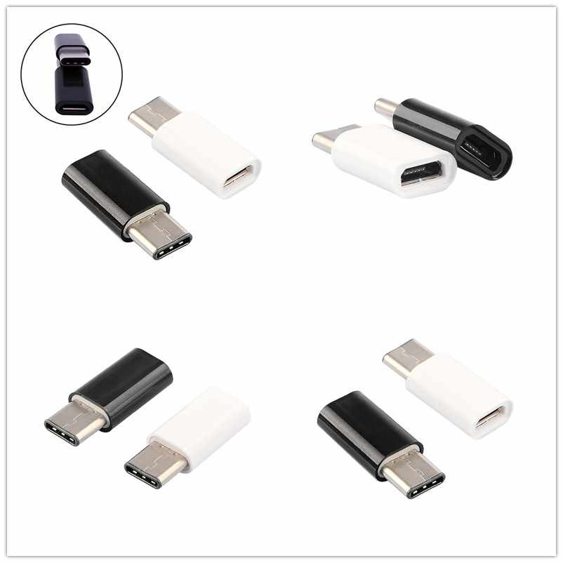 JETTING 1pcs Type-C USB Adapter Micro USB Female to USB 3.1 Type C Typec Male Cable Convertor Connector Fast Data Sync