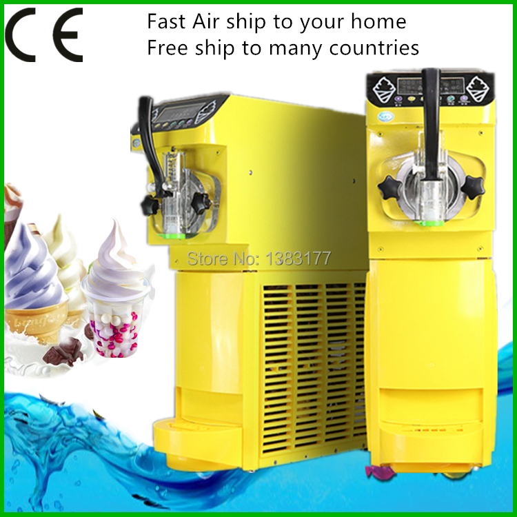 Commercial mini ice cream maker 18lh soft ice cream machine make commercial mini ice cream maker 18lh soft ice cream machine make sundae ice cream 110220v500w 04hp compressor in ice cream makers from home appliances ccuart Image collections