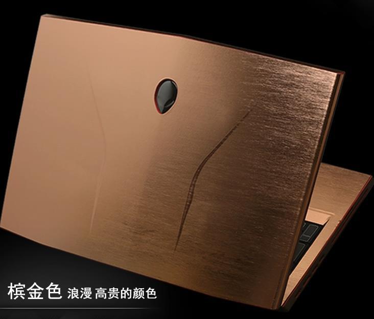 KH 노트북 닦았 반짝이 스티커 스킨 커버 보호기 에이리언웨어 17 M17X는 R3 R4 ANW17 17.3 인치 2012 릴리스