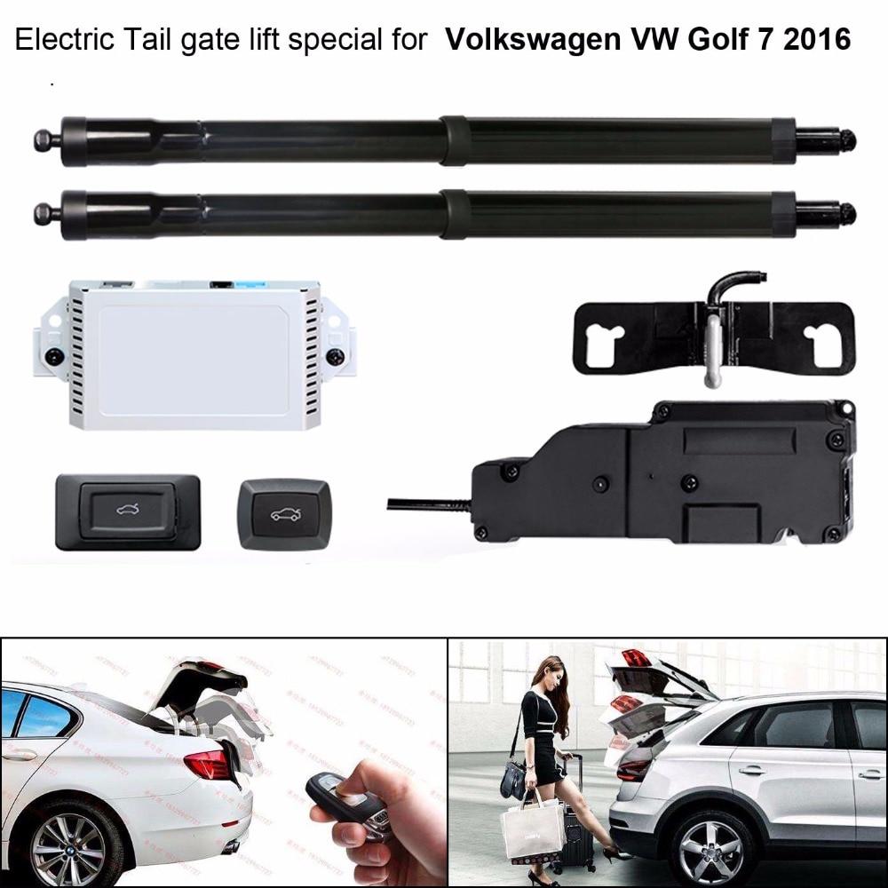 Auto Elettrica di Coda porta di sollevamento speciale per Volkswagen VW Golf 7 2016 Facile per Voi per Controllare Tronco Con Il Fermo