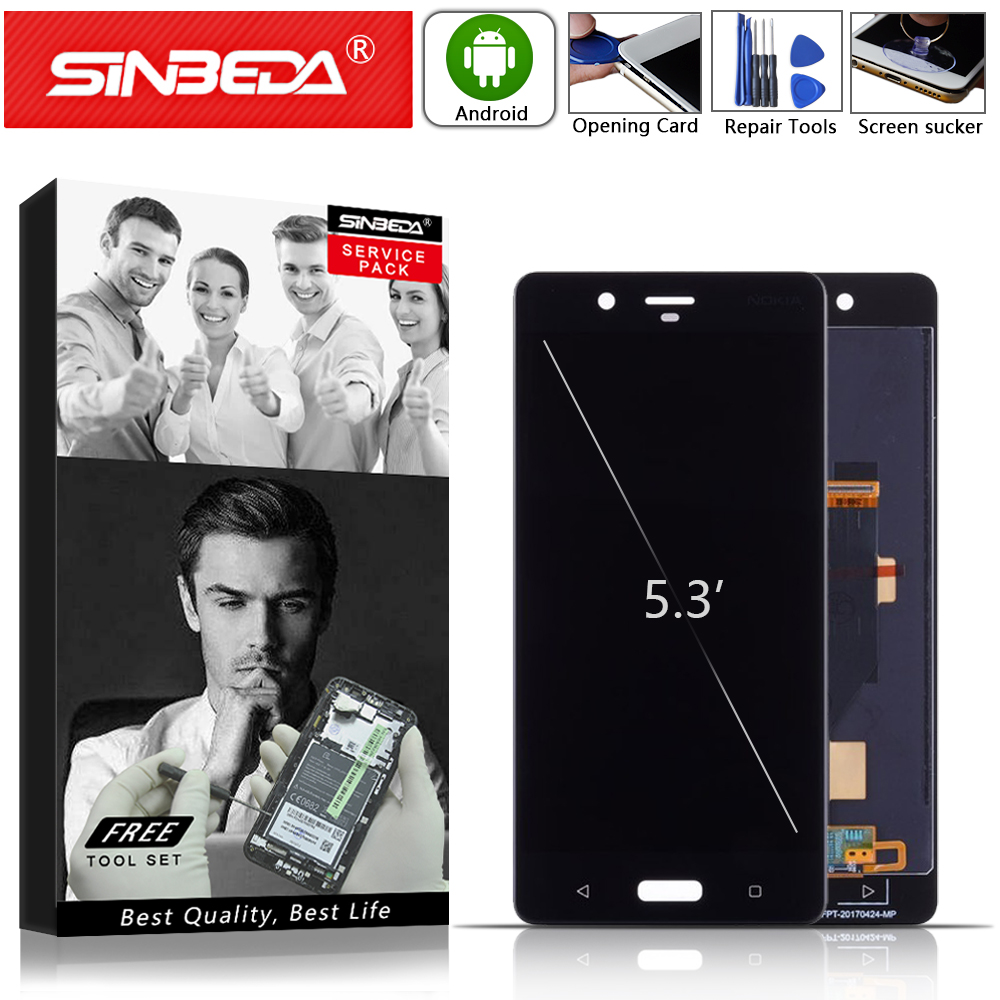 5.3Sinbeda LCD For NOKIA 8 LCD Display Touch Screen For NOKIA 8 Display Digitizer Assemble Replacement For Nokia N8 LCD Screen@5.3Sinbeda LCD For NOKIA 8 LCD Display Touch Screen For NOKIA 8 Display Digitizer Assemble Replacement For Nokia N8 LCD Screen@