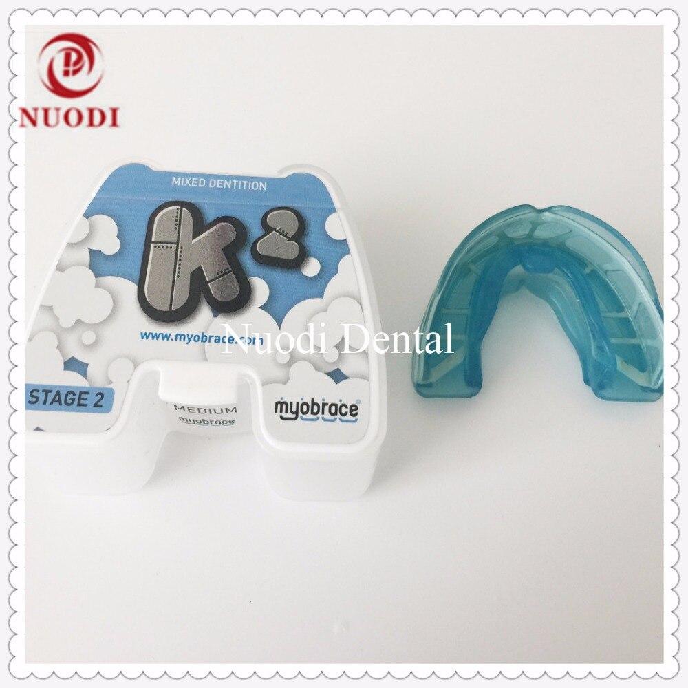 Myobrace per i bambini Ortodontico trainer K2 dentizione mista/MRC Allenatore Ortodontico Appliance Profondo morso K2 Othodontic brace