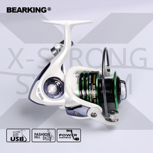 Bearking 2017 New Mela Super Light Weight Graphite Body Max Drag 7KG Carp Fishing Reel Spinning Reel Free Shipping