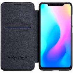 xiaomi mi8 mi 8 Case For xiaomi mi 8SE Case Original Nillkin QIN Series Filp Leather wallet Case Cover with sleep function
